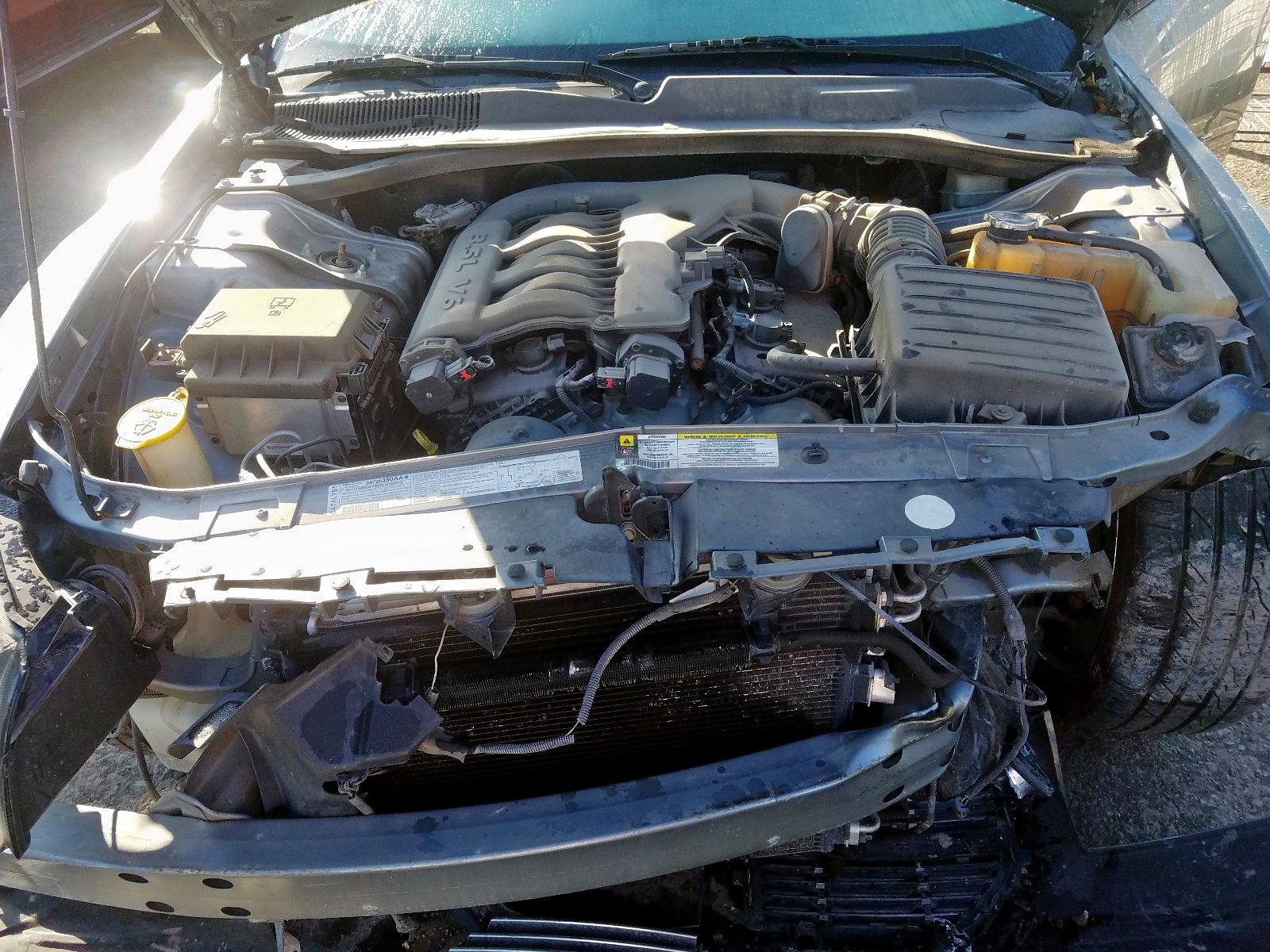 2D4FV47V67H720660 - 2007 Dodge Magnum Sxt 3.5L inside view