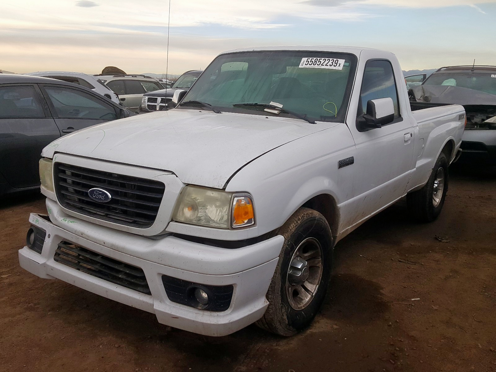 1FTYR10U26PA04908 - 2006 Ford Ranger 3.0L Right View