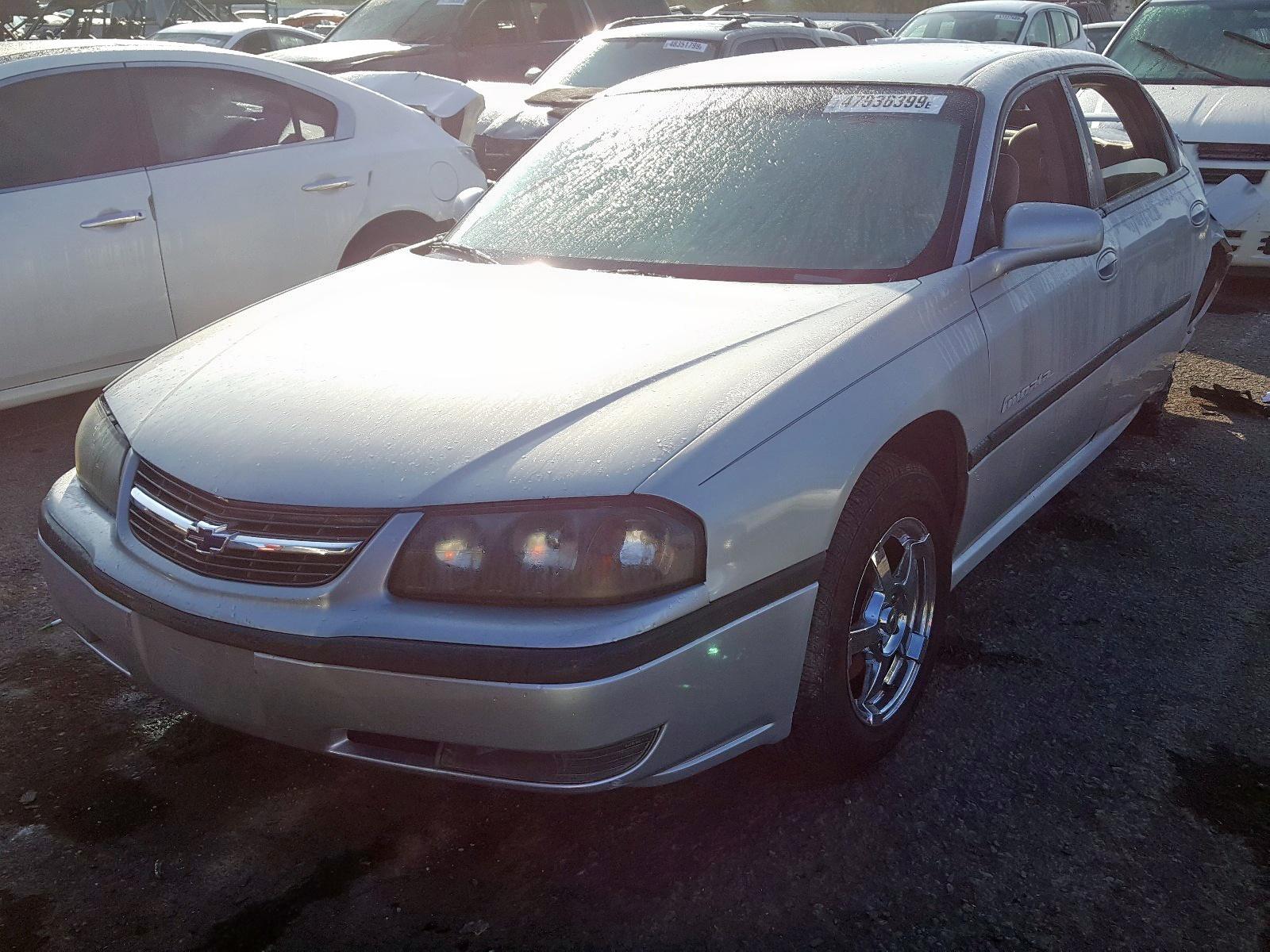 2000 Chevrolet Impala Ls 3.8L Right View