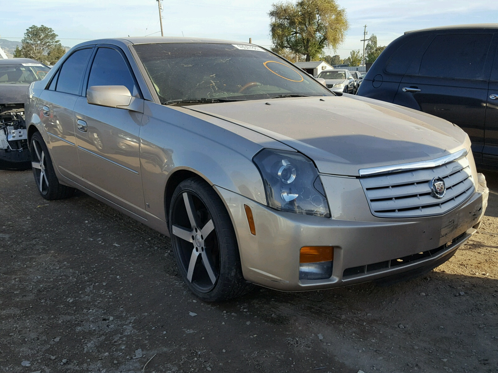 carfinder in southern certificate auto sale salvage left online copart auctions cadillac lot view cts en il gray for on illinois