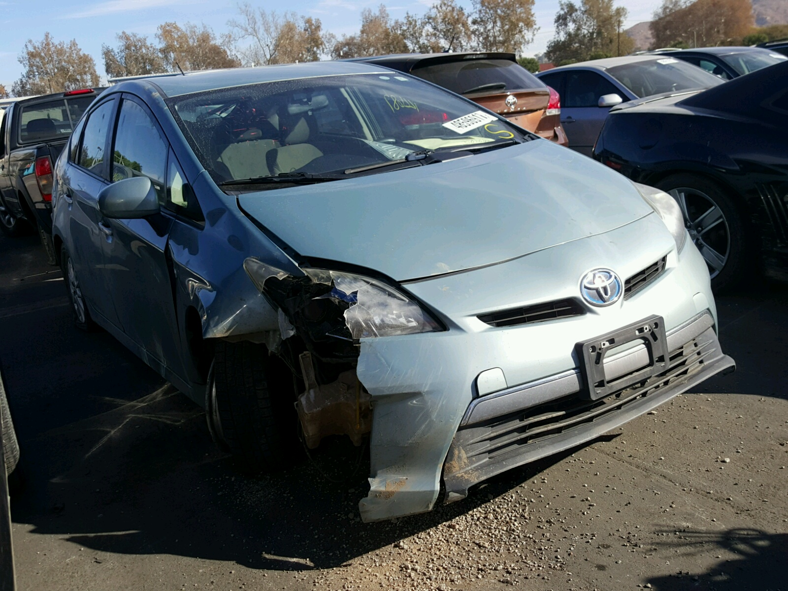 Auto Auction Ended On Vin Jtdkn3du2c5480140 2012 Toyota