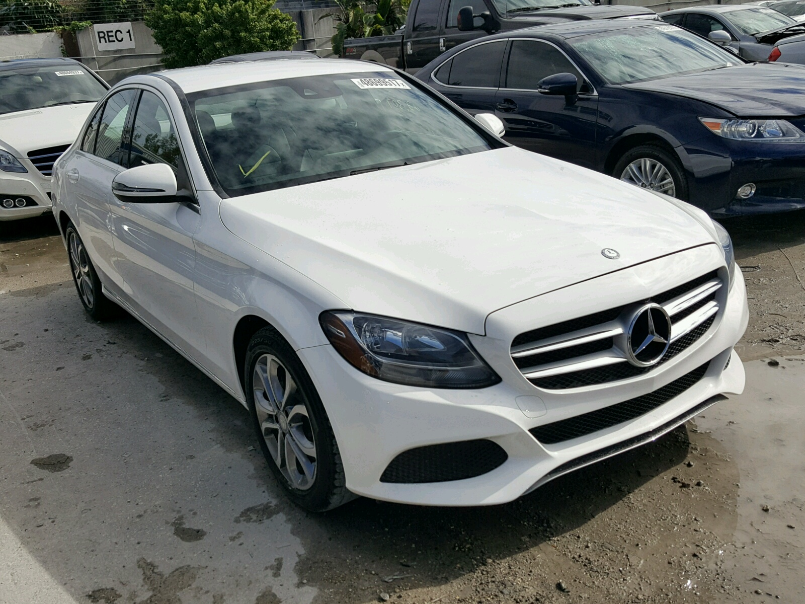 Auto auction ended on vin 55swf4jb9gu118316 2016 mercedes for Mercedes benz car auctions
