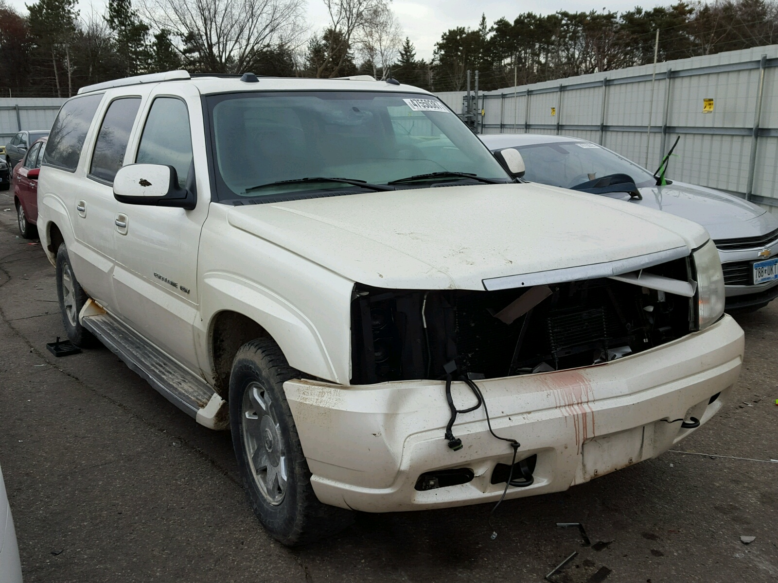 sale salvage copart cert online for cadillac view auctions beige en title carfinder montgomery lot al auto of on escalade l in left