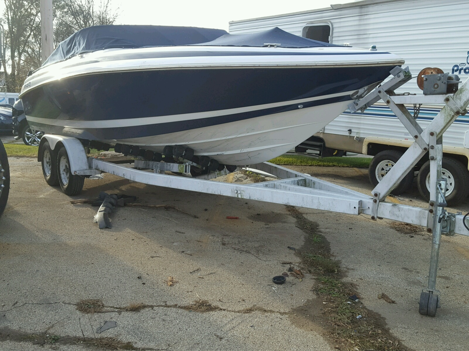 Salvage 1994 Cobalt BOAT for sale
