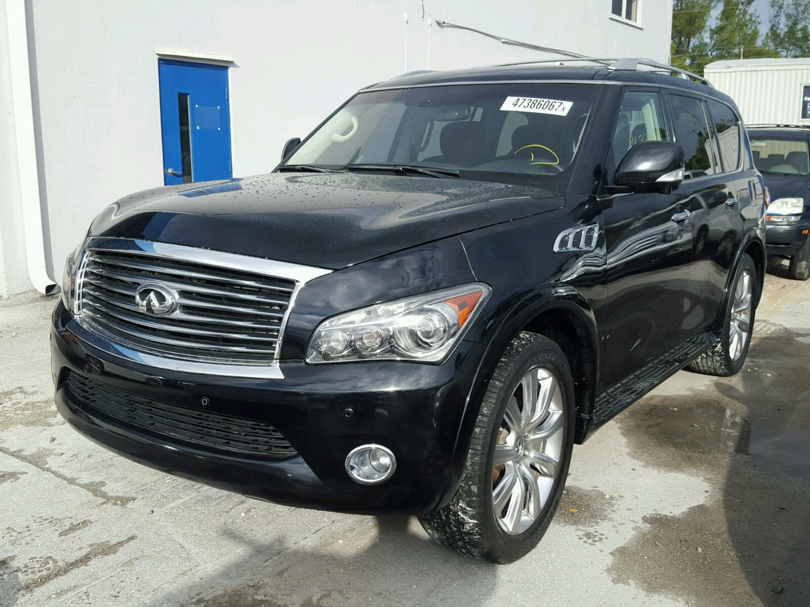Infiniti San Antonio >> 2014 Infiniti QX80 for sale at Copart Miami, FL Lot# 47386067