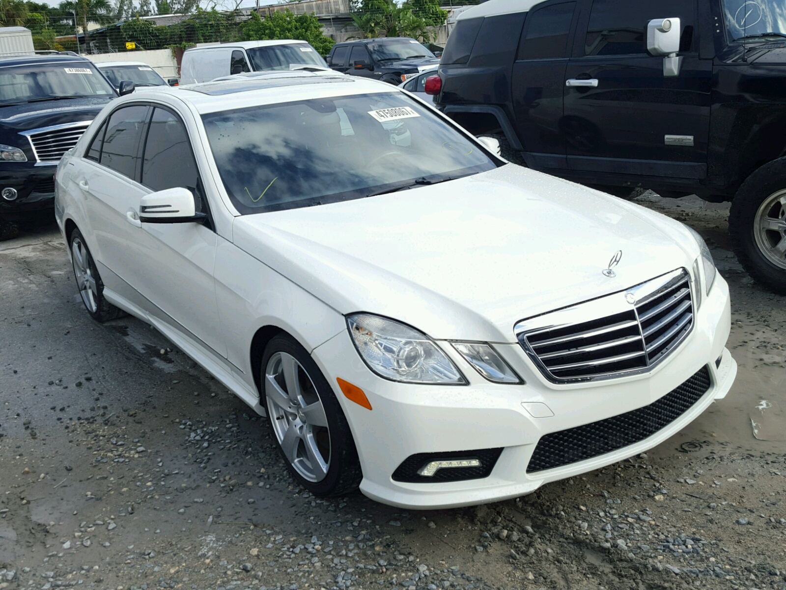 2011 mercedes benz e 350 for sale at copart miami fl lot for Mercedes benz mechanic miami