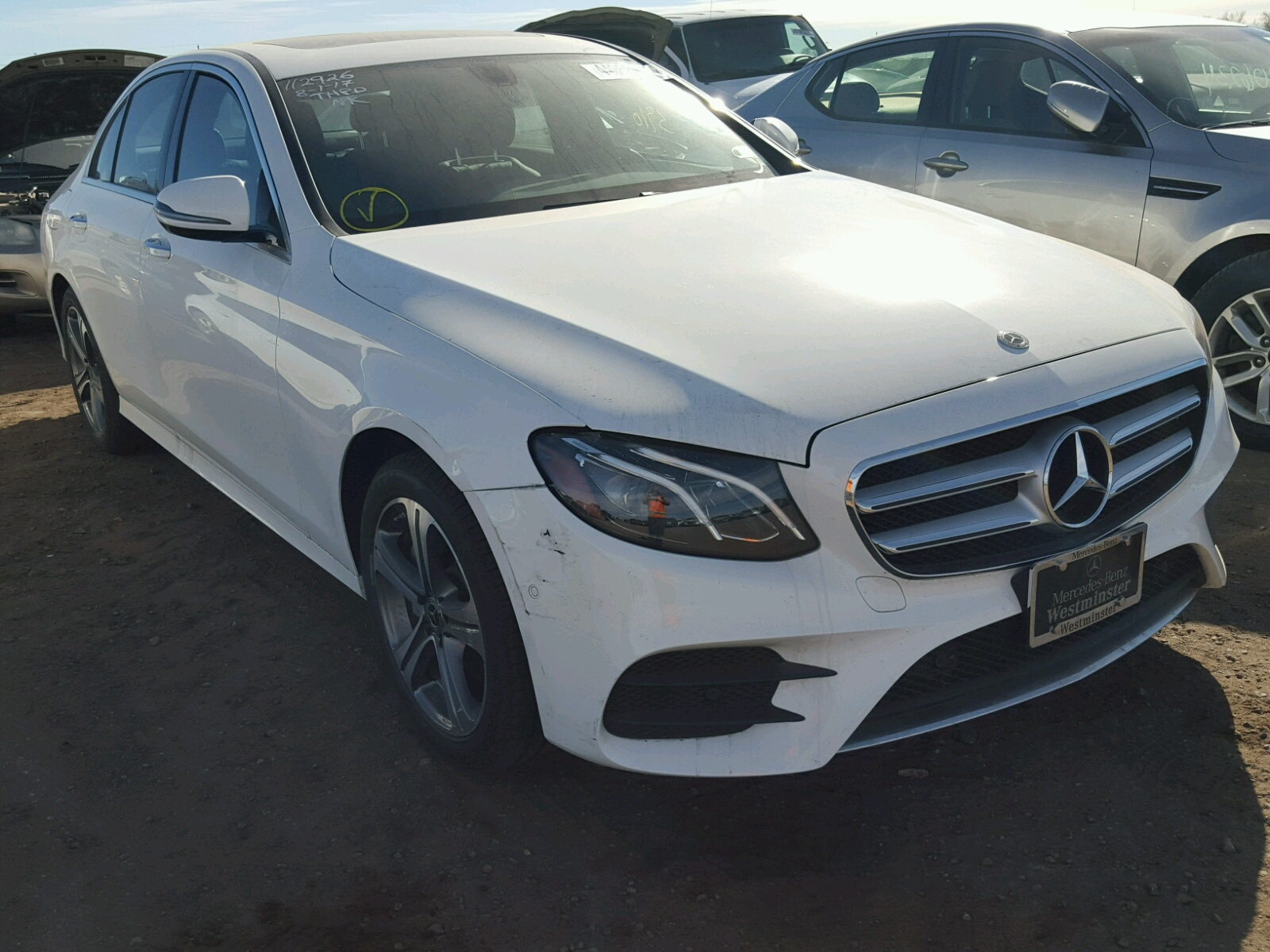 Auto Auction Ended on VIN WDDZF4KB6HA 2017 MERCEDES BENZ E