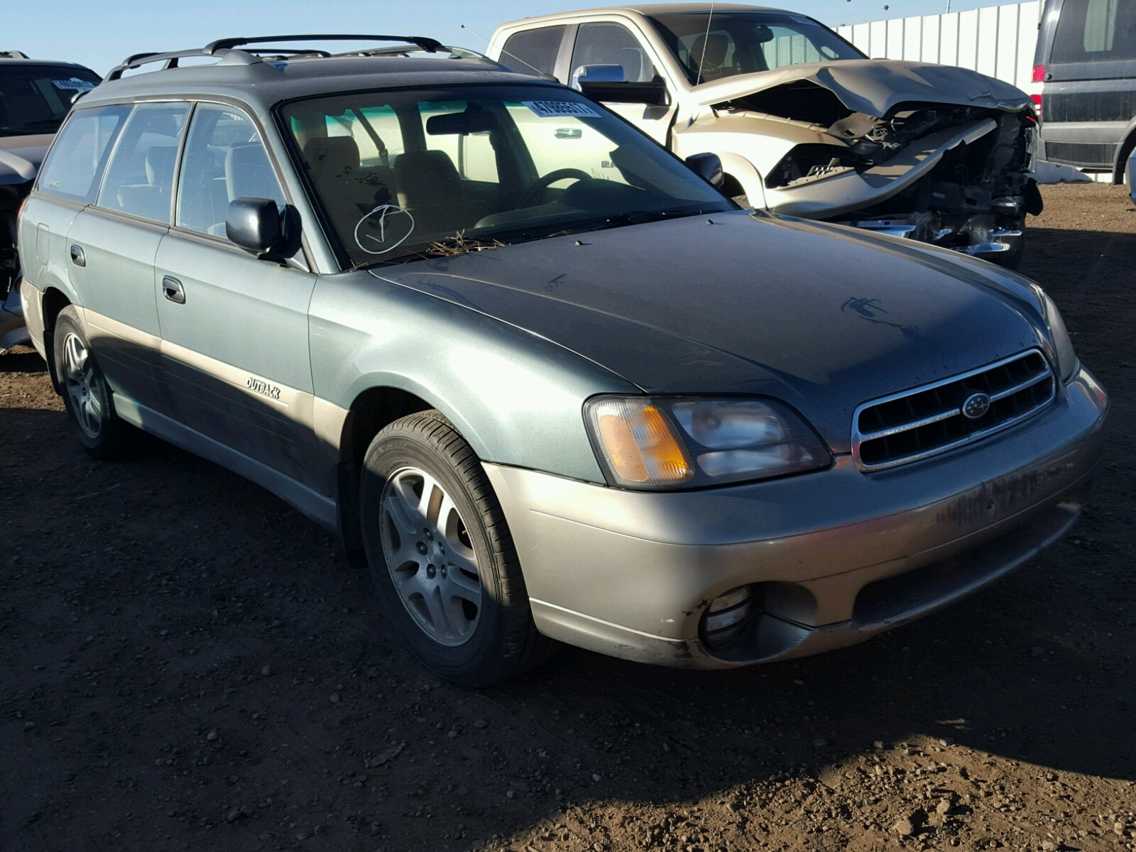4S3BH6651Y6632957 - 2000 SUBARU LEGACY OUT 2.5L Left View