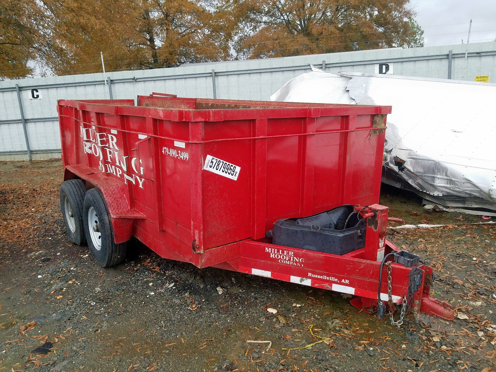 2011 Acto Trailer For Sale At Copart Conway Ar Lot 57879959 Salvagereseller Com