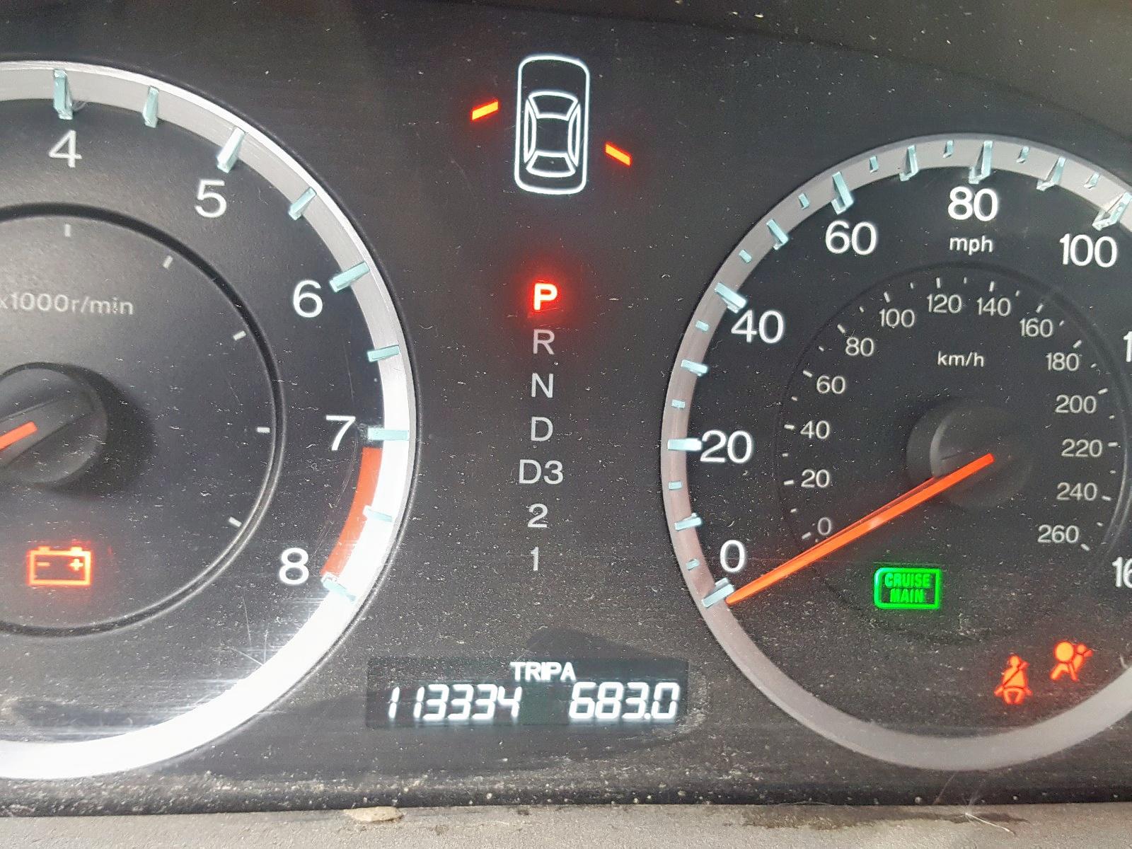 2011 Honda Accord Ex 2.4L front view