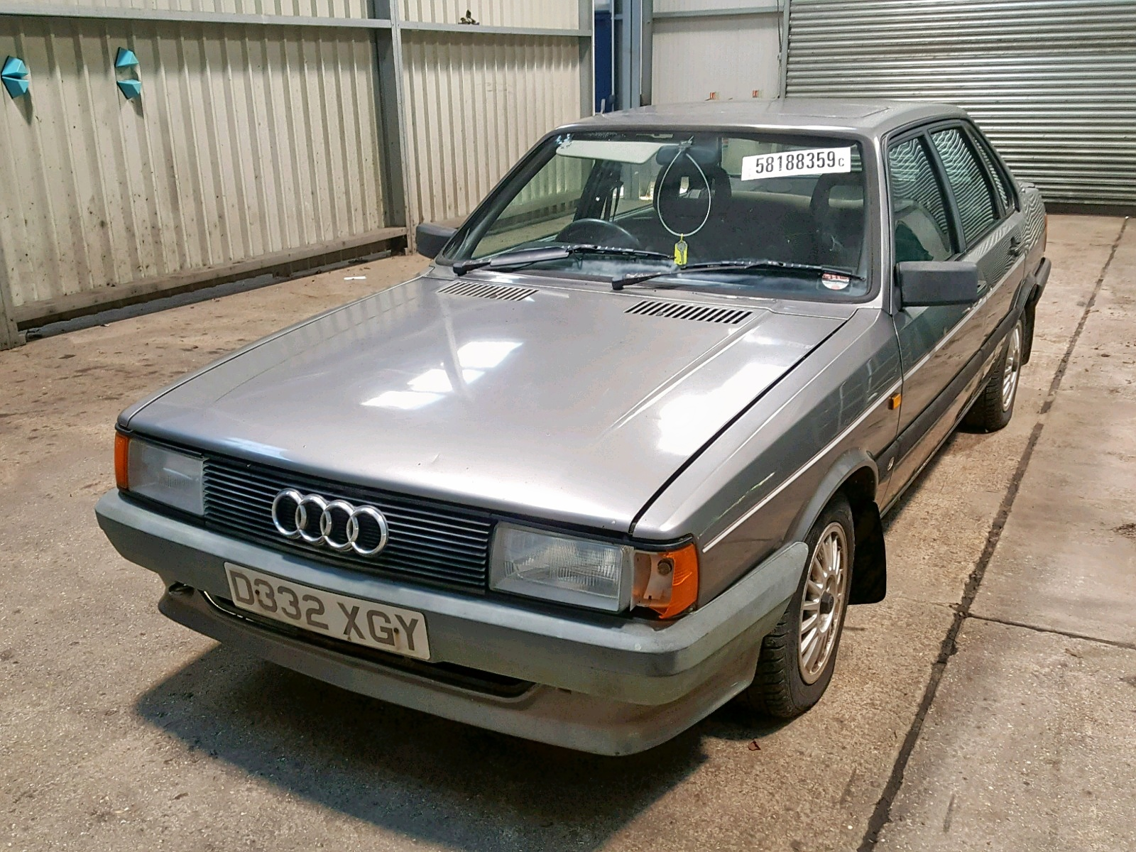 1986 AUDI 80 SPORT for sale at Copart UK - Salvage Car ...