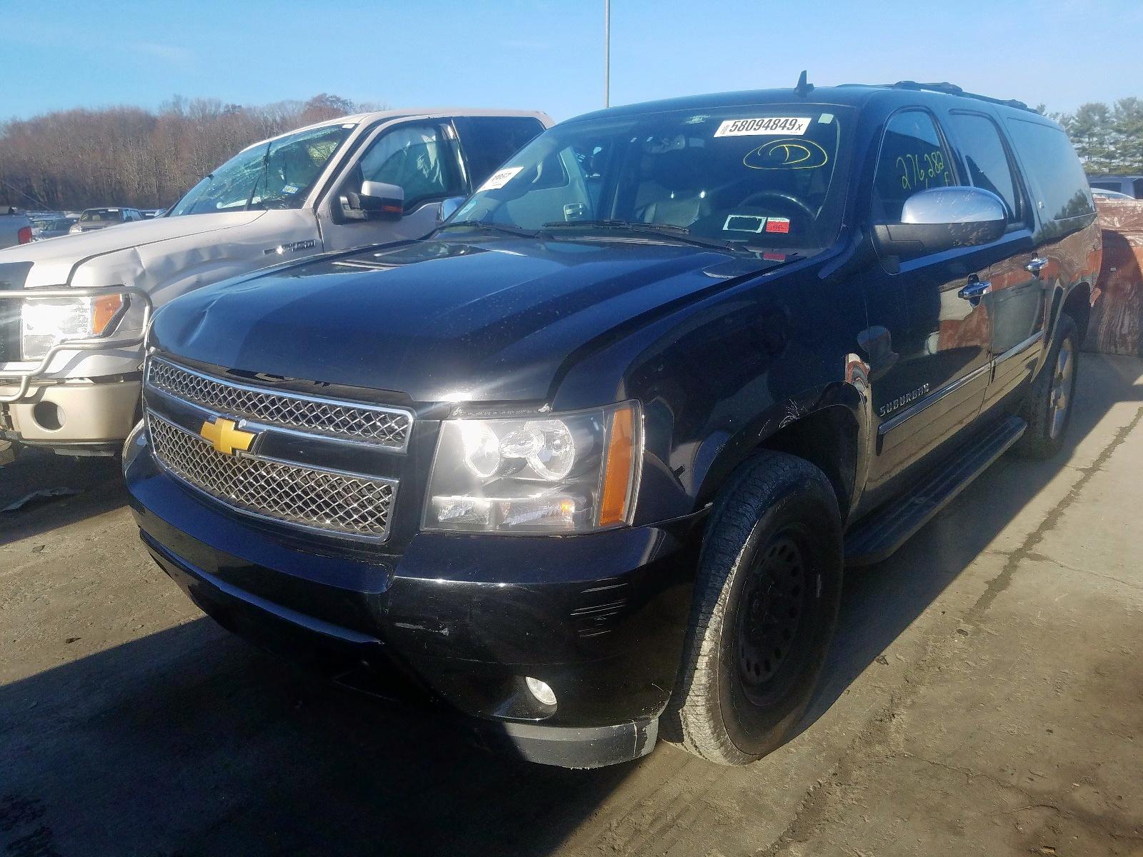 2012 Chevrolet Suburban K 5.3L Right View