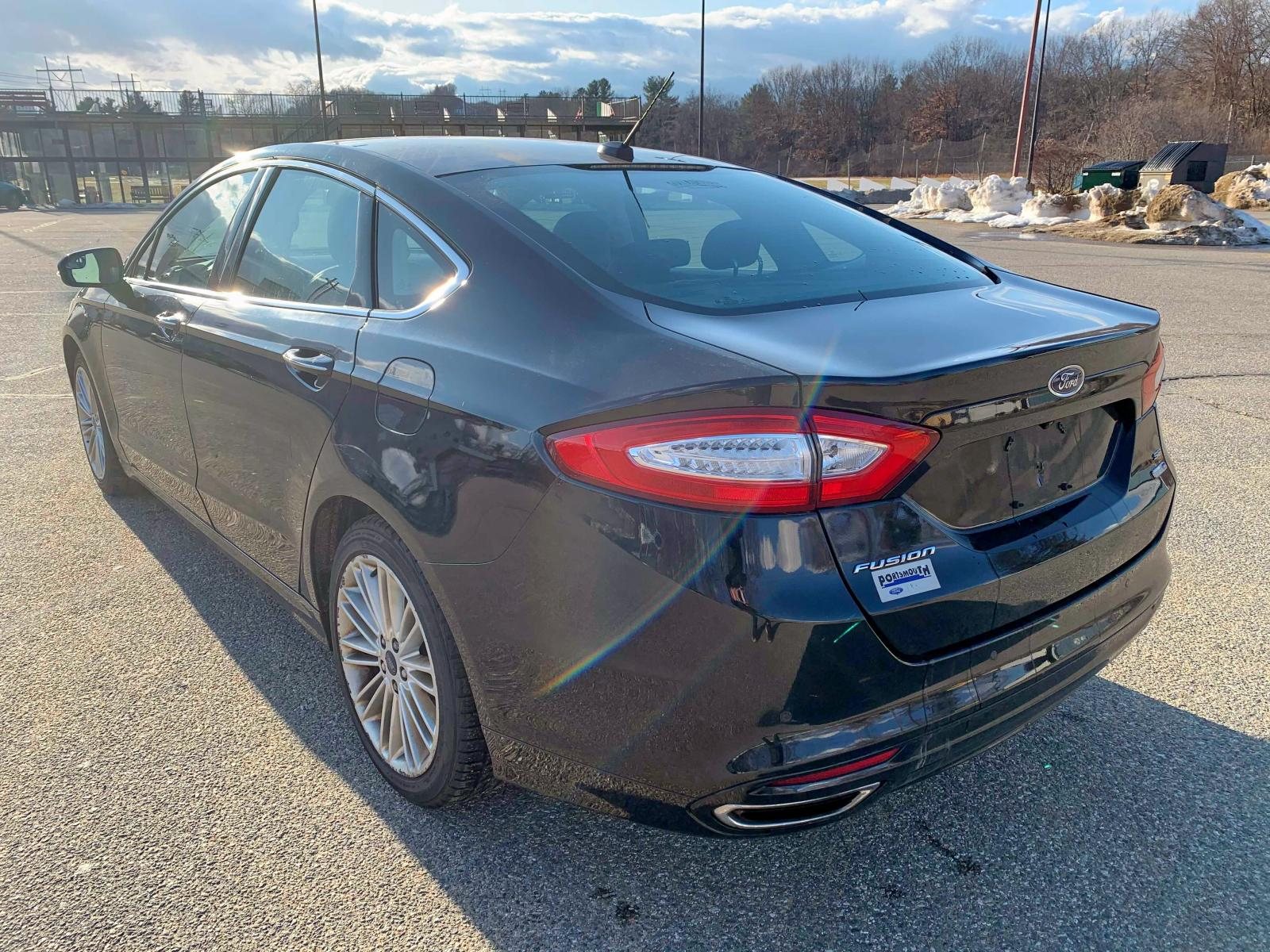 3FA6P0T9XGR107587 - 2016 Ford Fusion Se 2.0L [Angle] View