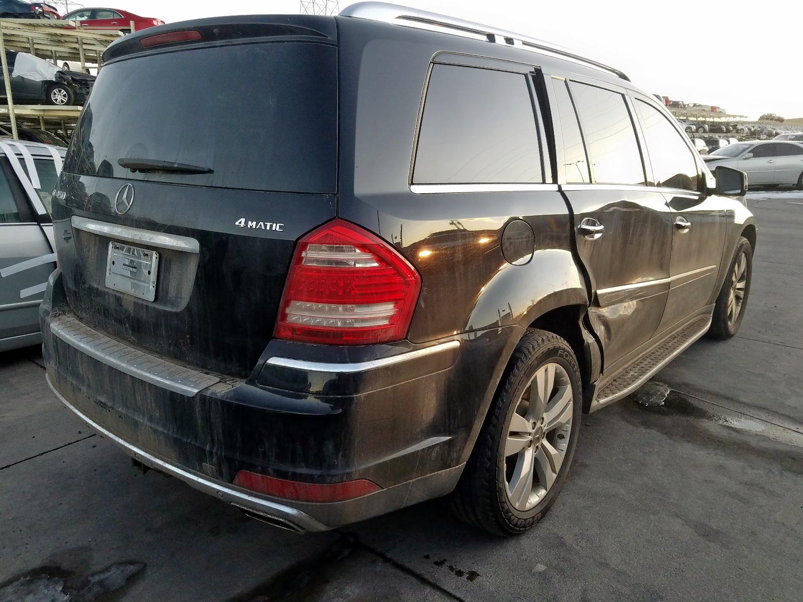 2012 Mercedes-Benz Gl 450 4Ma 4.6L 8 in CO - Denver ...
