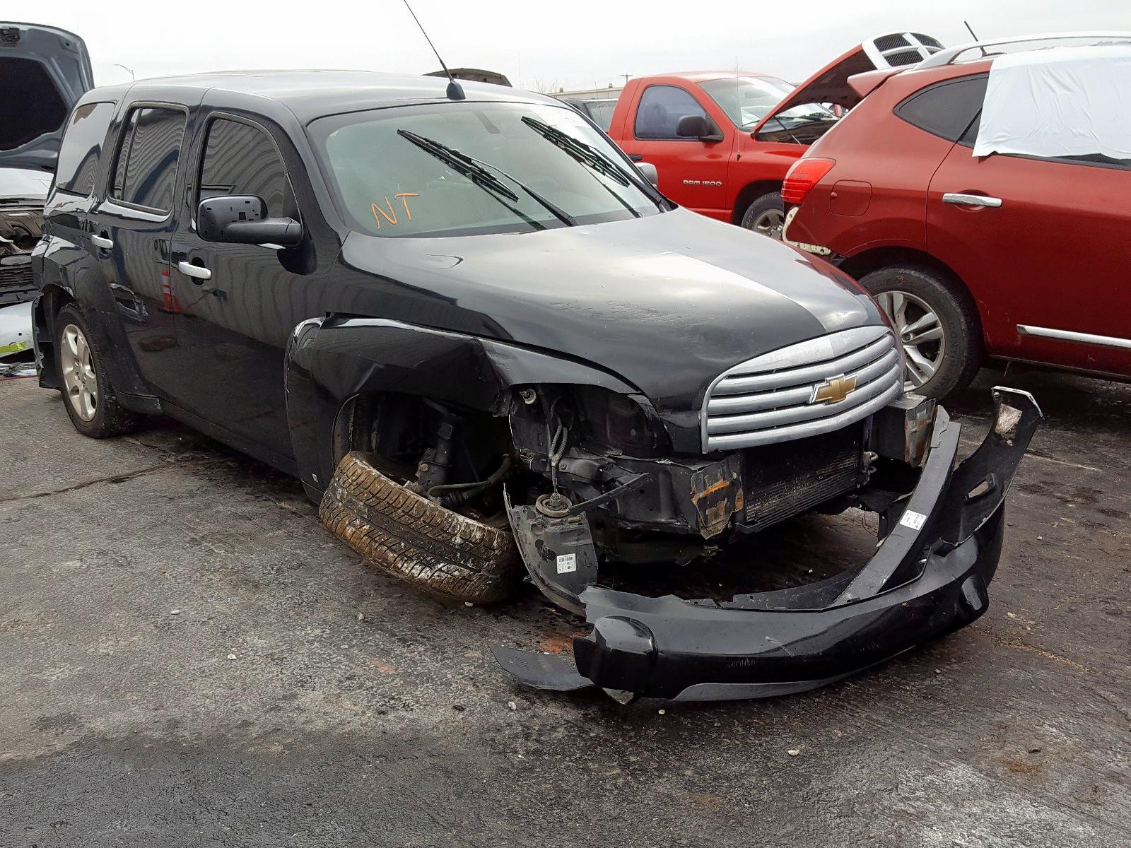 2007 Chevrolet Hhr Ls For Sale At Copart Tulsa Ok Lot 26794050