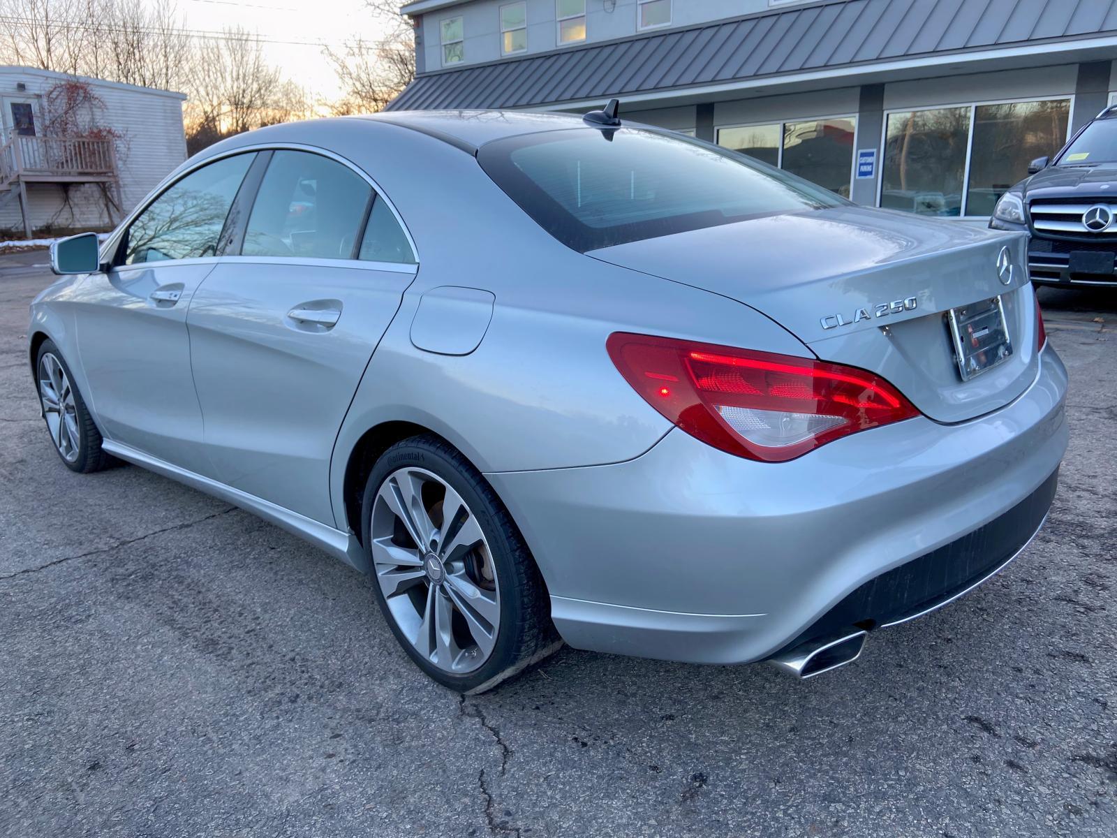 WDDSJ4EB9EN060365 - 2014 Mercedes-Benz Cla 250 2.0L rear view