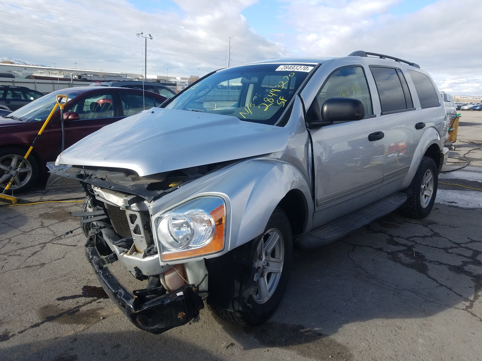 1D4HB48N44F165169 - 2004 Dodge Durango Sl 4.7L Right View