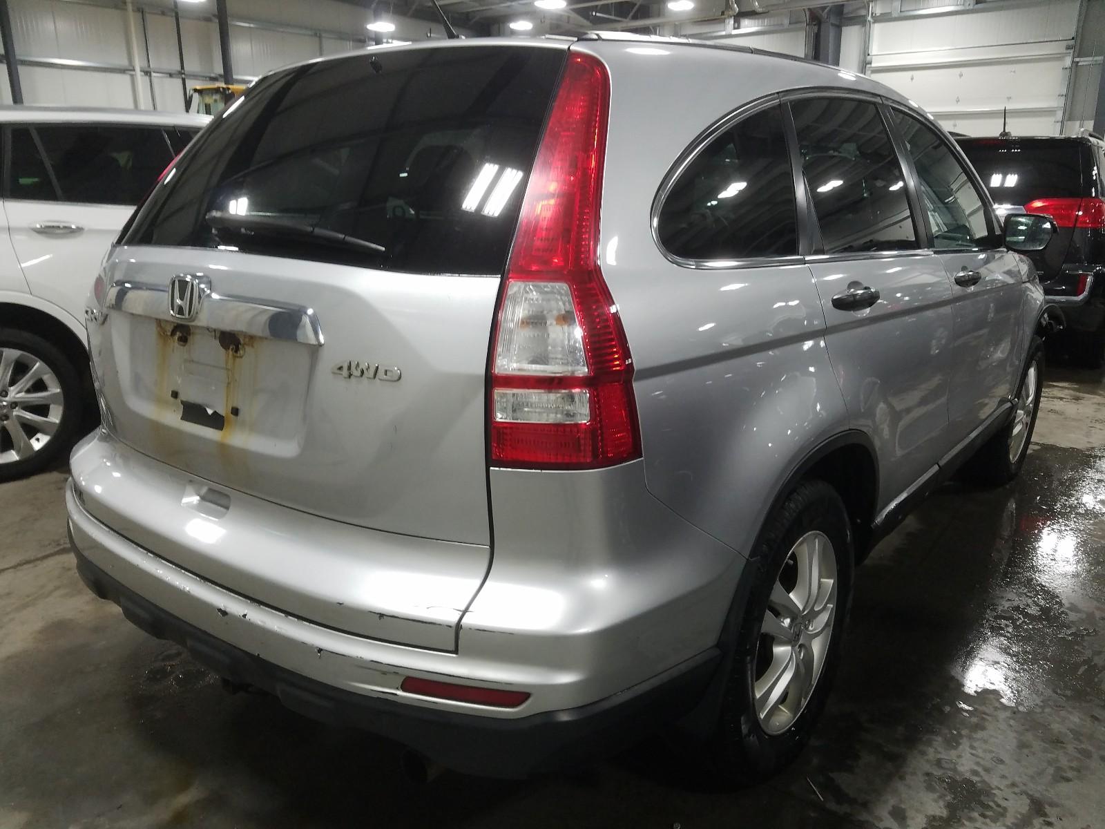 3CZRE4H5XAG700888 - 2010 Honda Cr-V Ex 2.4L rear view