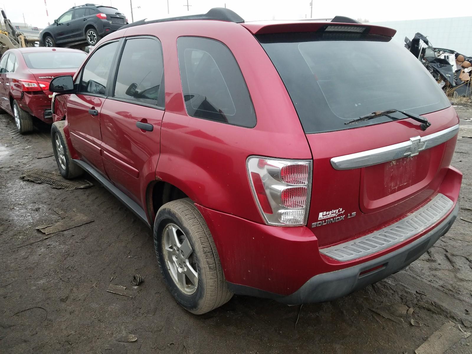 2CNDL13F466179511 - 2006 Chevrolet Equinox Ls 3.4L