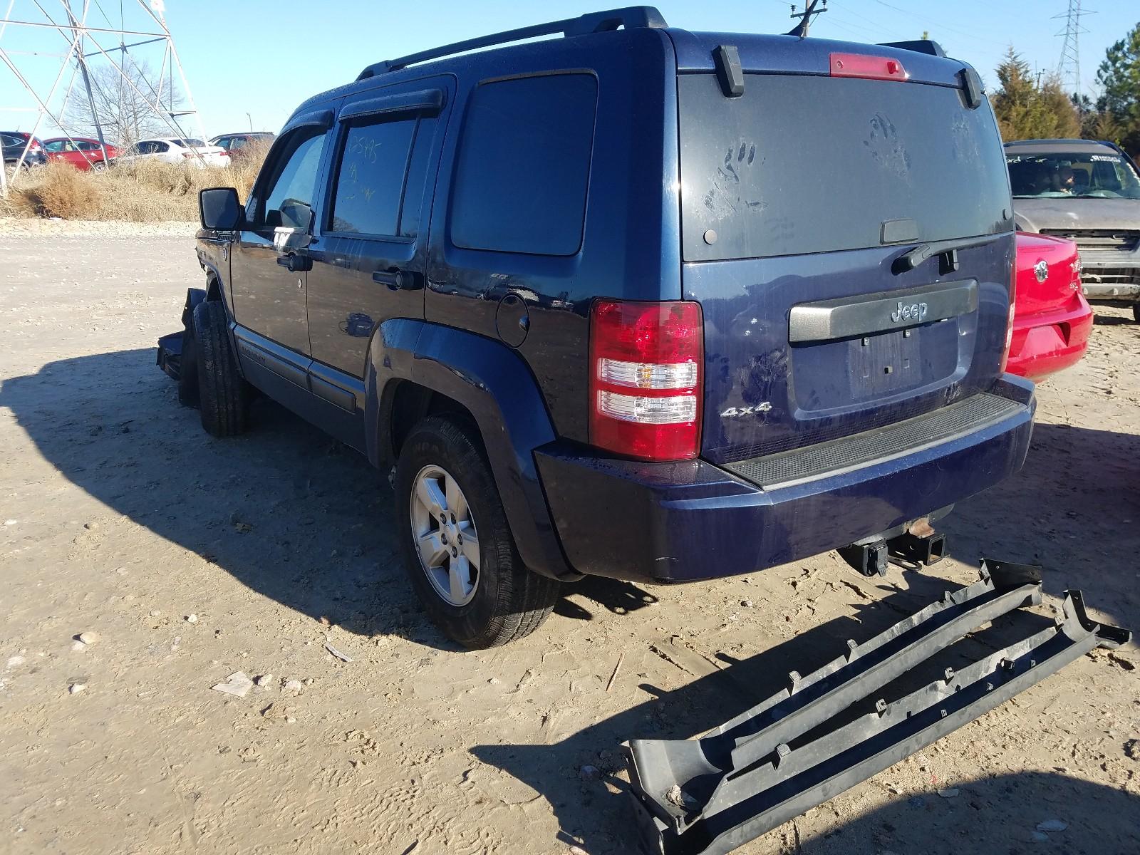 1C4PJMAK1CW154267 - 2012 Jeep Liberty Sp 3.7L [Angle] View