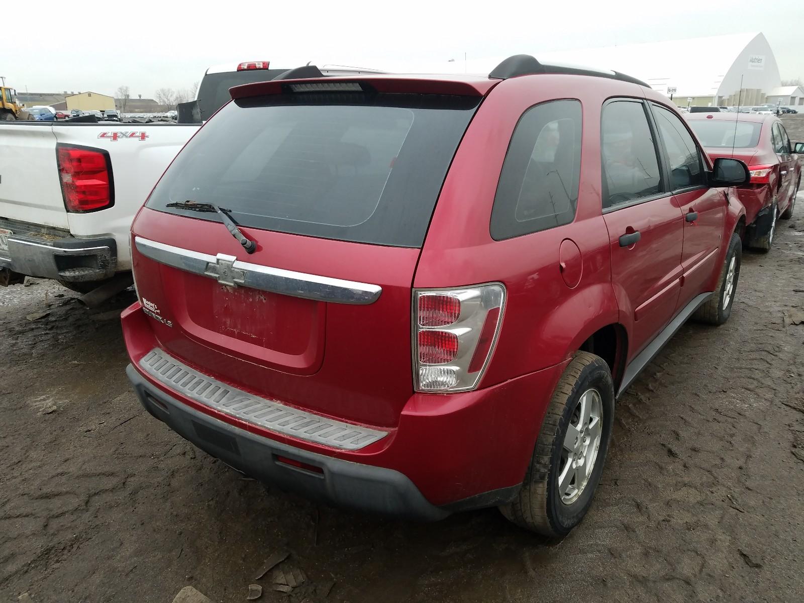 2CNDL13F466179511 - 2006 Chevrolet Equinox Ls 3.4L rear view