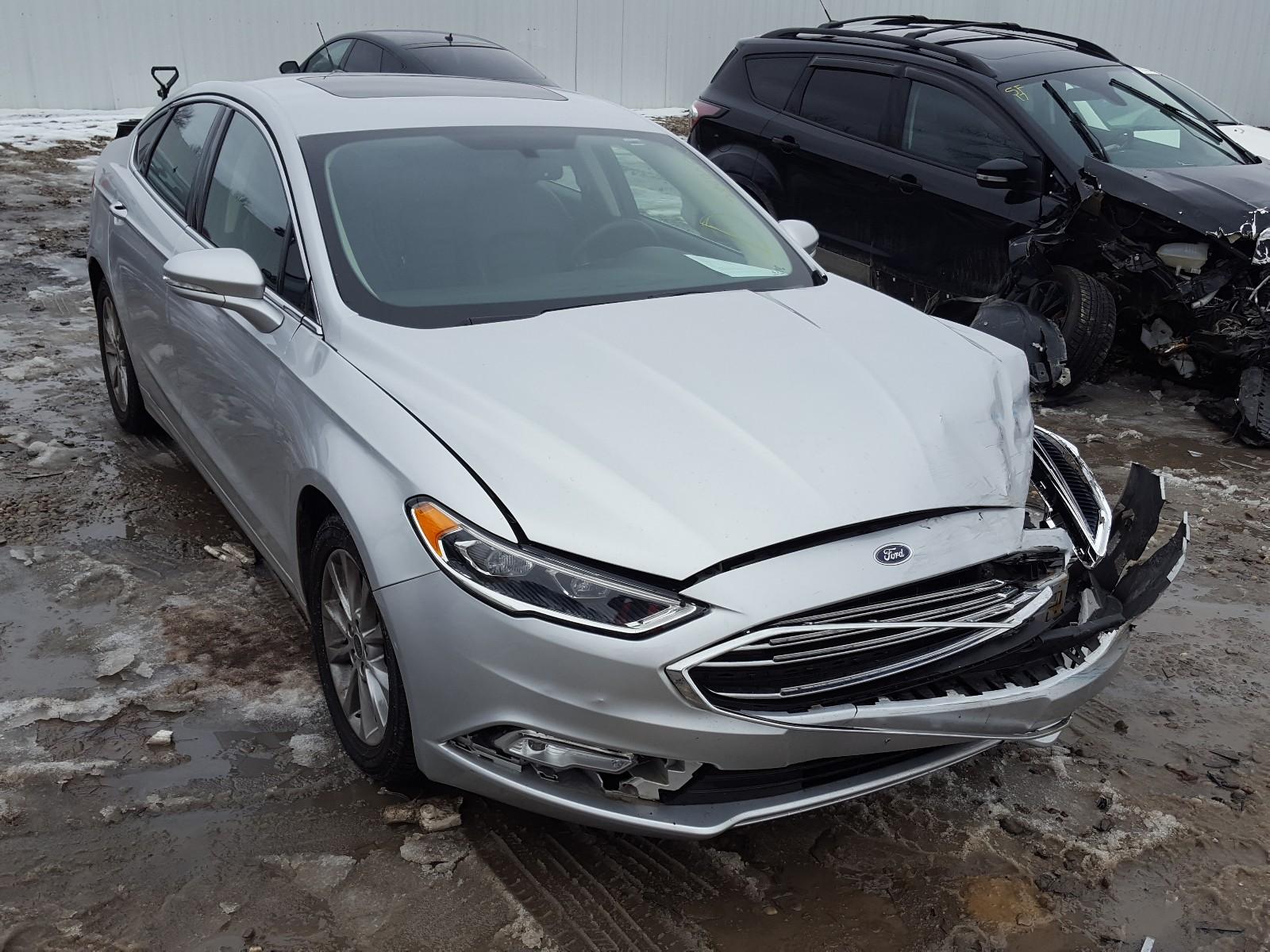 3FA6P0HD5HR155450 - 2017 Ford Fusion Se 1.5L Left View