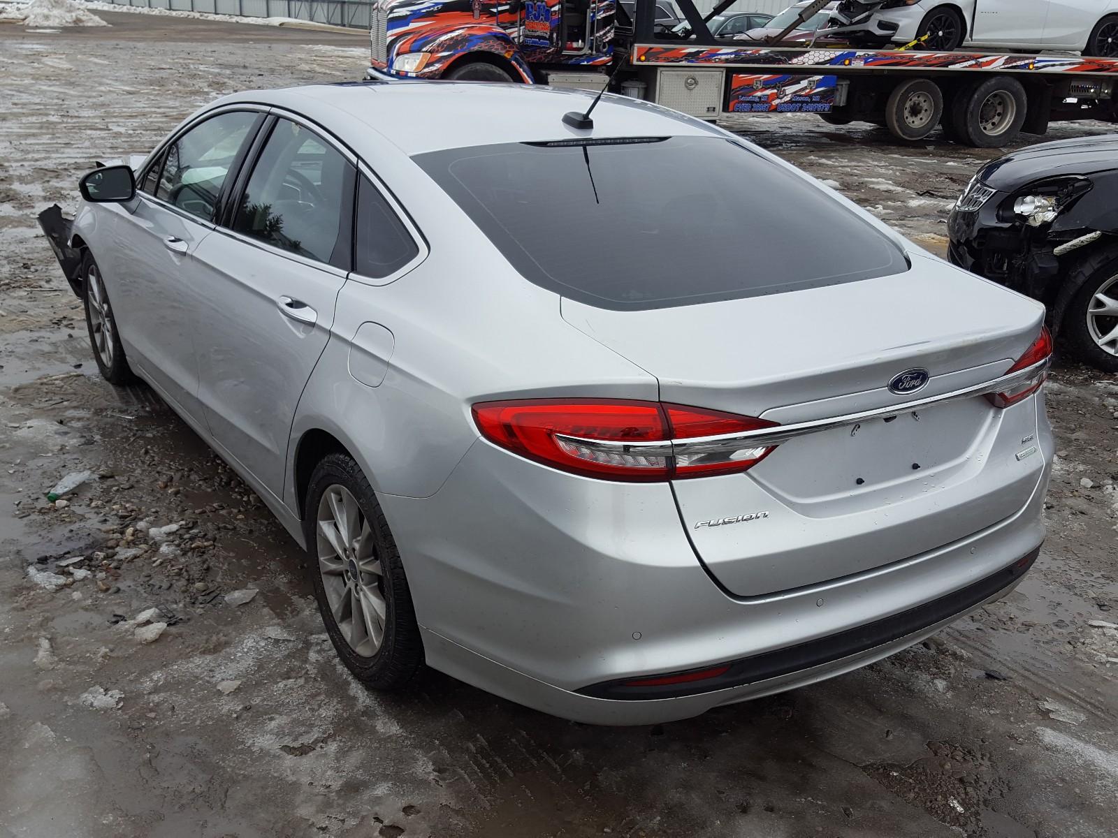3FA6P0HD5HR155450 - 2017 Ford Fusion Se 1.5L [Angle] View