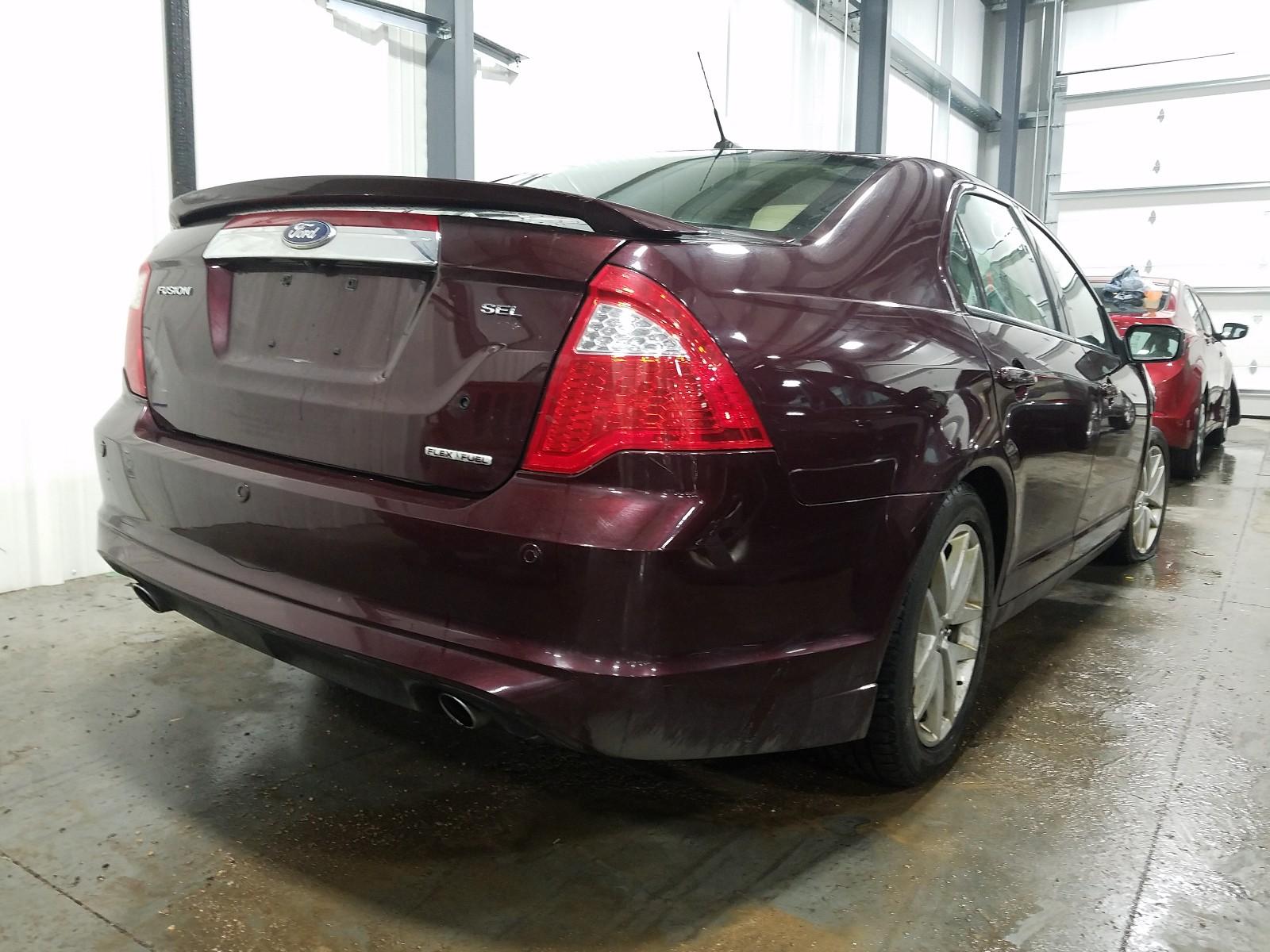 3FAHP0CG6CR288298 - 2012 Ford Fusion Sel 3.0L rear view