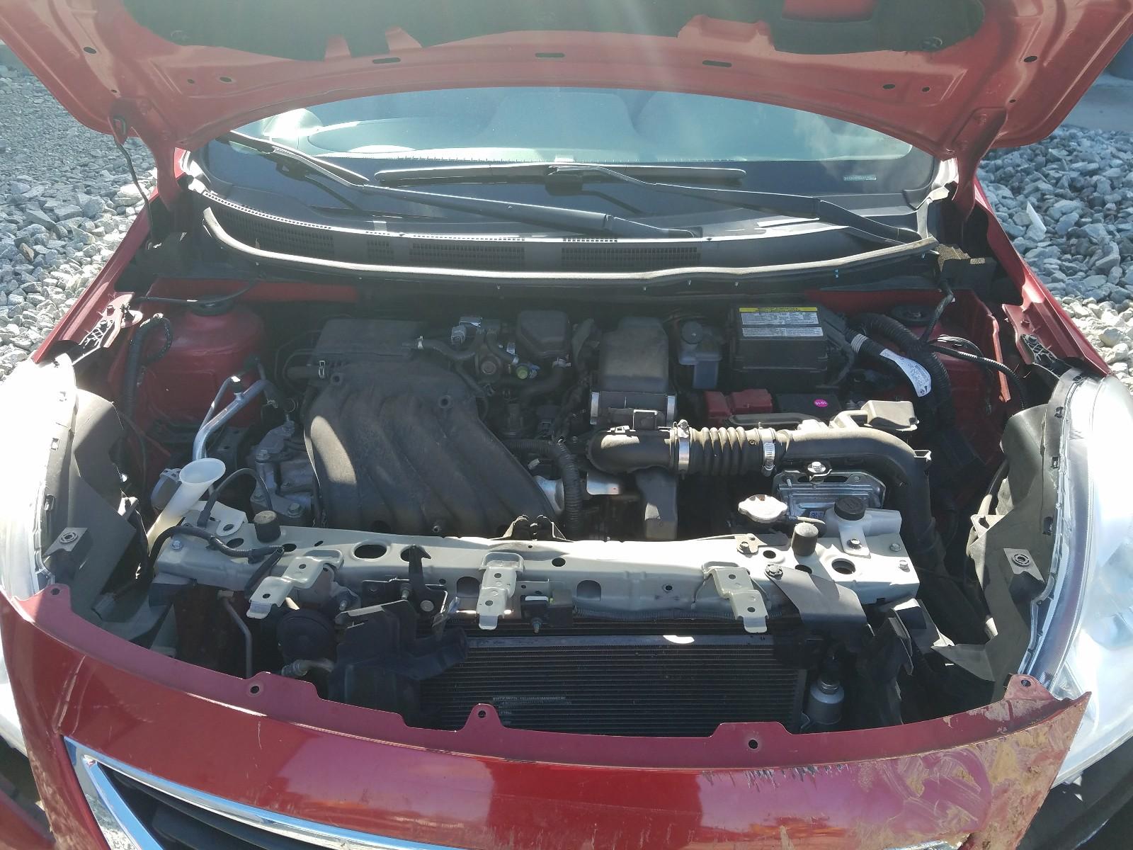 3N1CN7AP8EL805969 - 2014 Nissan Versa S 1.6L inside view