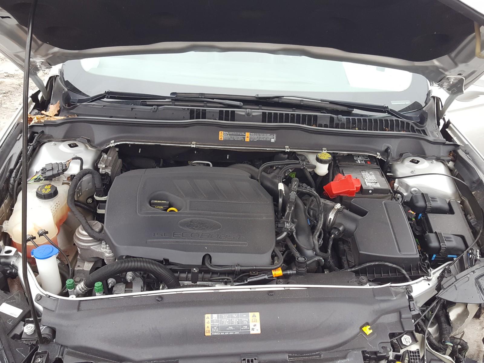 3FA6P0HD5HR155450 - 2017 Ford Fusion Se 1.5L inside view