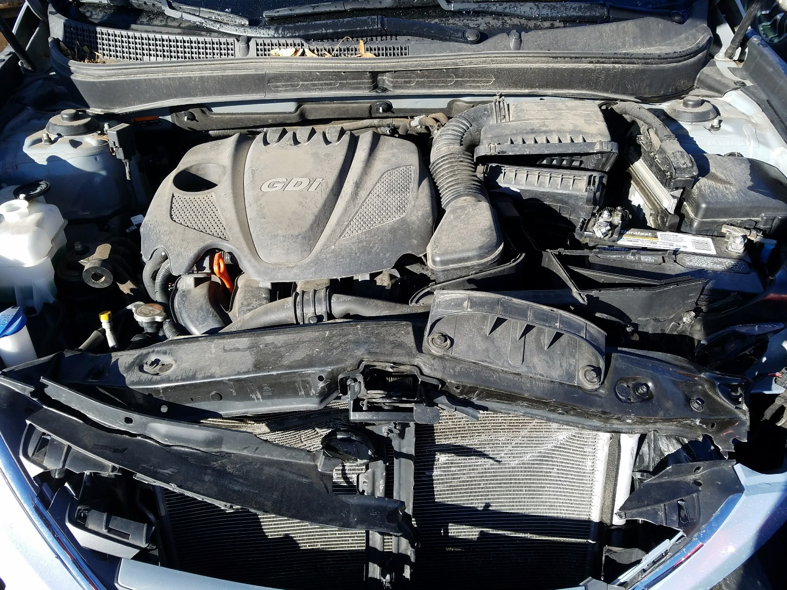 5NPEB4AC7EH889924 - 2014 Hyundai Sonata Gls 2.4L inside view