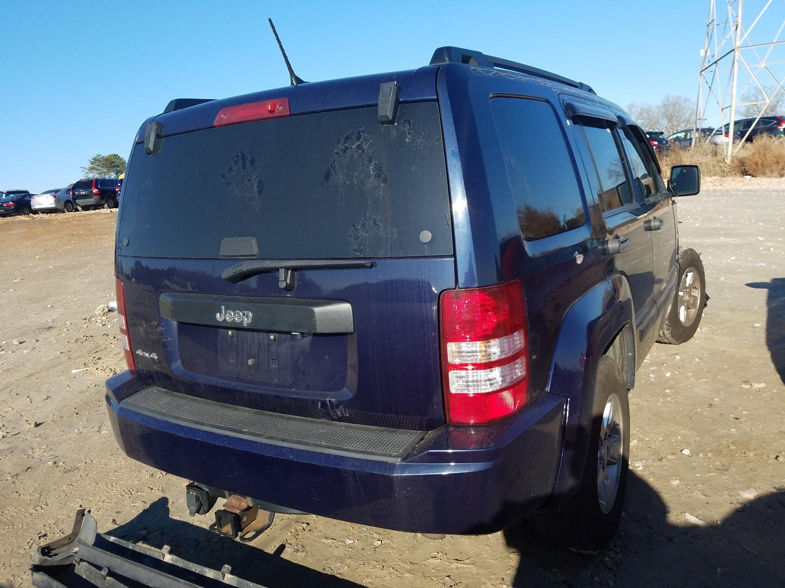 1C4PJMAK1CW154267 - 2012 Jeep Liberty Sp 3.7L rear view
