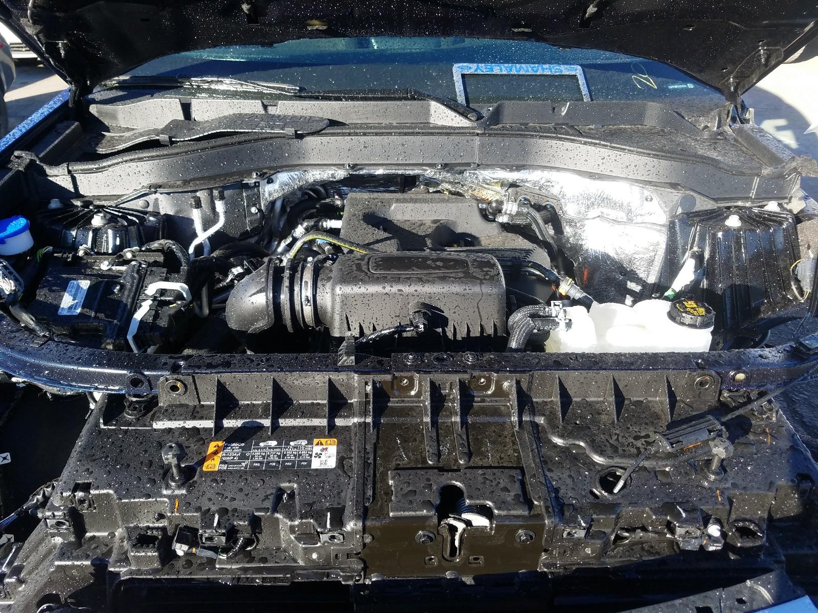 1FMSK7DH1LGB15824 - 2020 Ford Explorer X 2.3L inside view