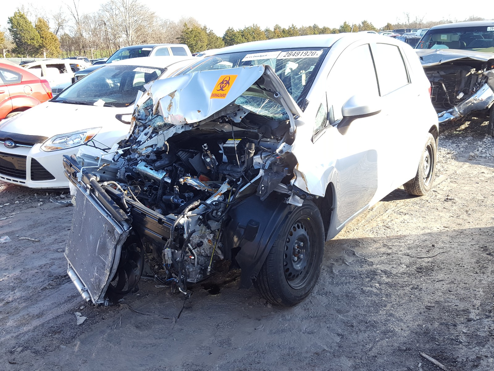 3N1CE2CP3KL358768 - 2019 Nissan Versa Note 1.6L Right View