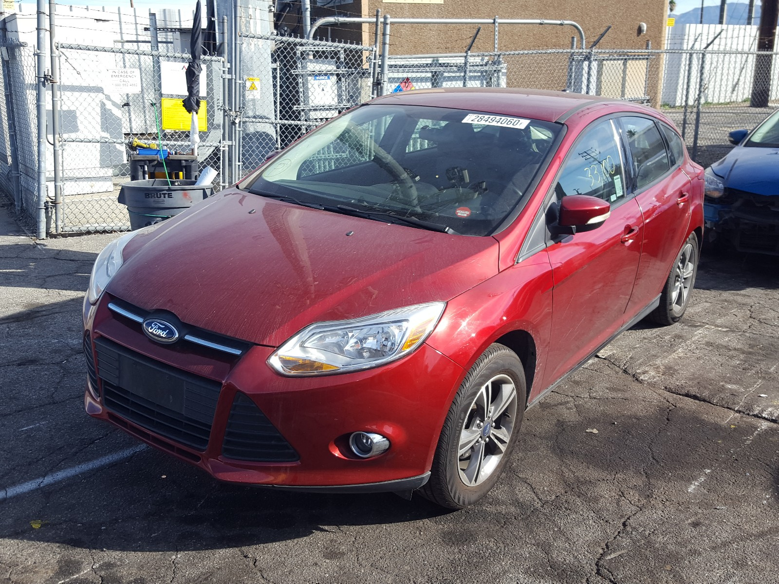 1FADP3K2XEL111650 - 2014 Ford Focus Se 2.0L Right View