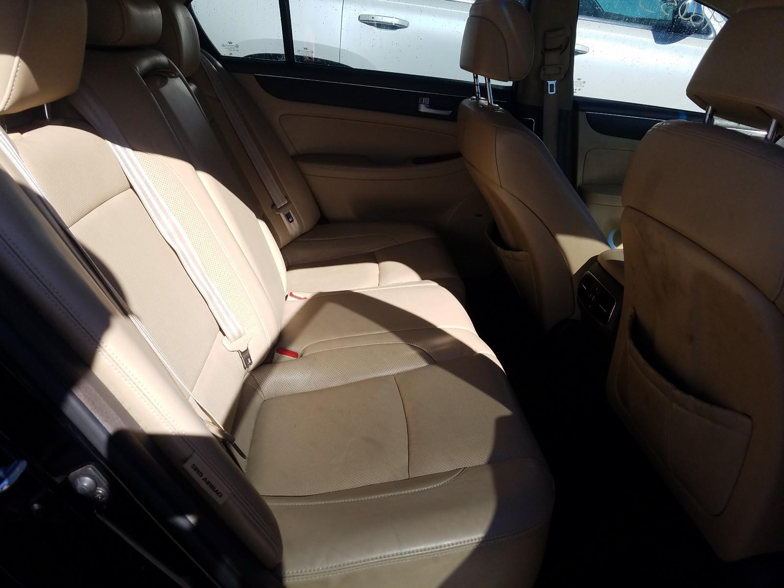 2012 Hyundai Genesis 4. 4.6L detail view