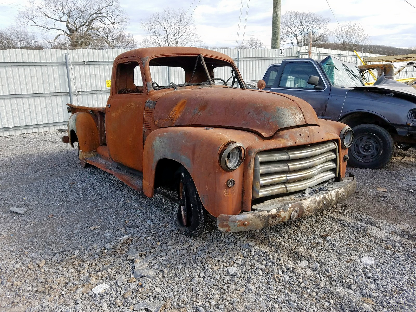 1950 Gmc Pickup For Sale At Copart Lebanon Tn Lot 28733460 Salvagereseller Com