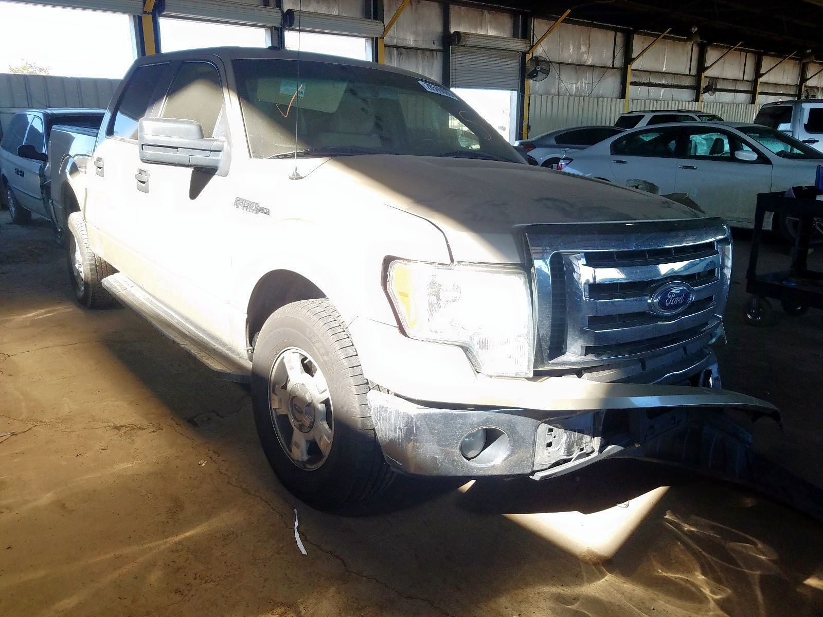 1FTFW1CV8AFC06848 - 2010 Ford F150 Super 5.4L Left View