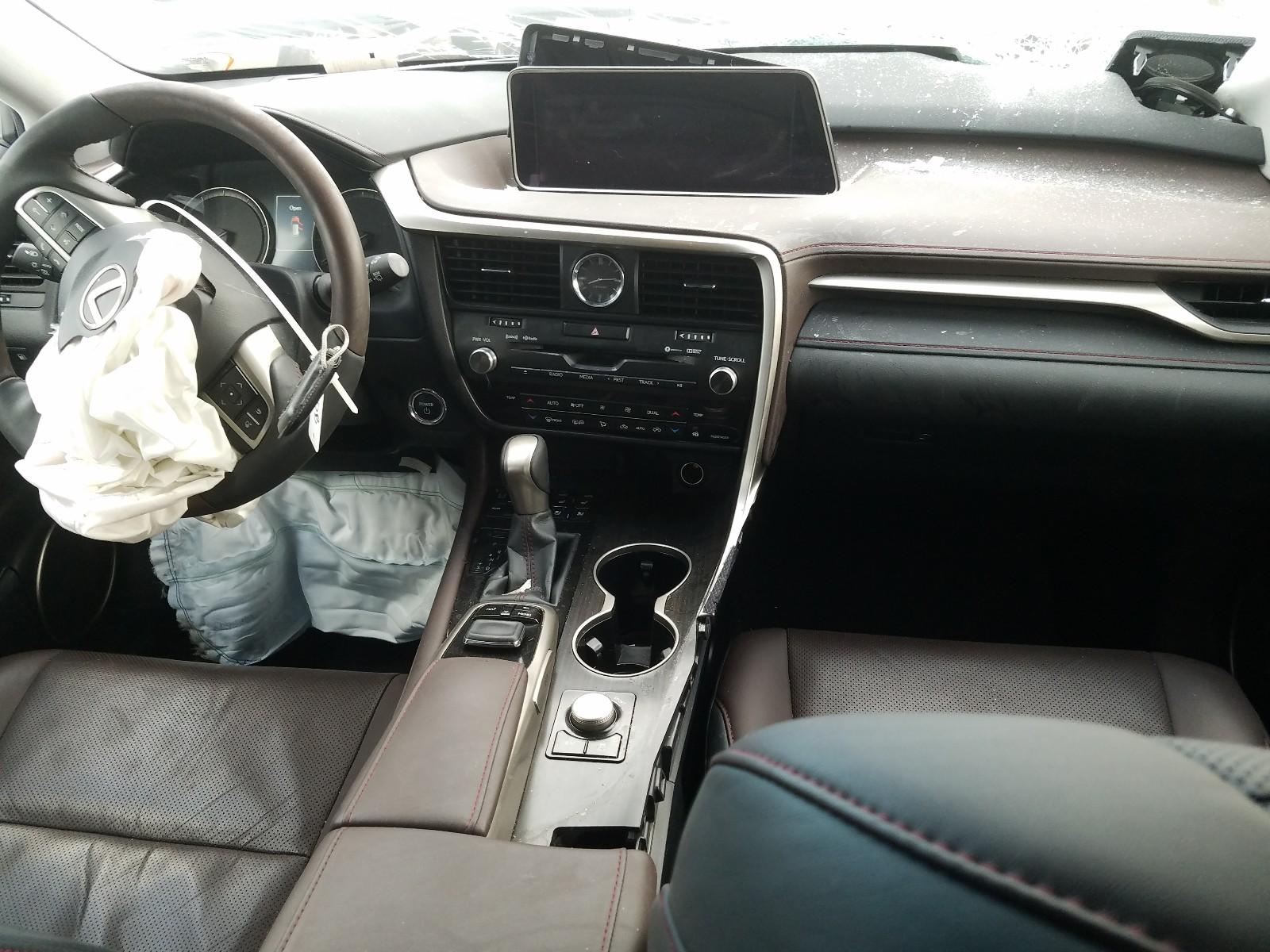 2T2BGMCA3KC032185 - 2019 Lexus Rx 450H Ba 3.5L engine view