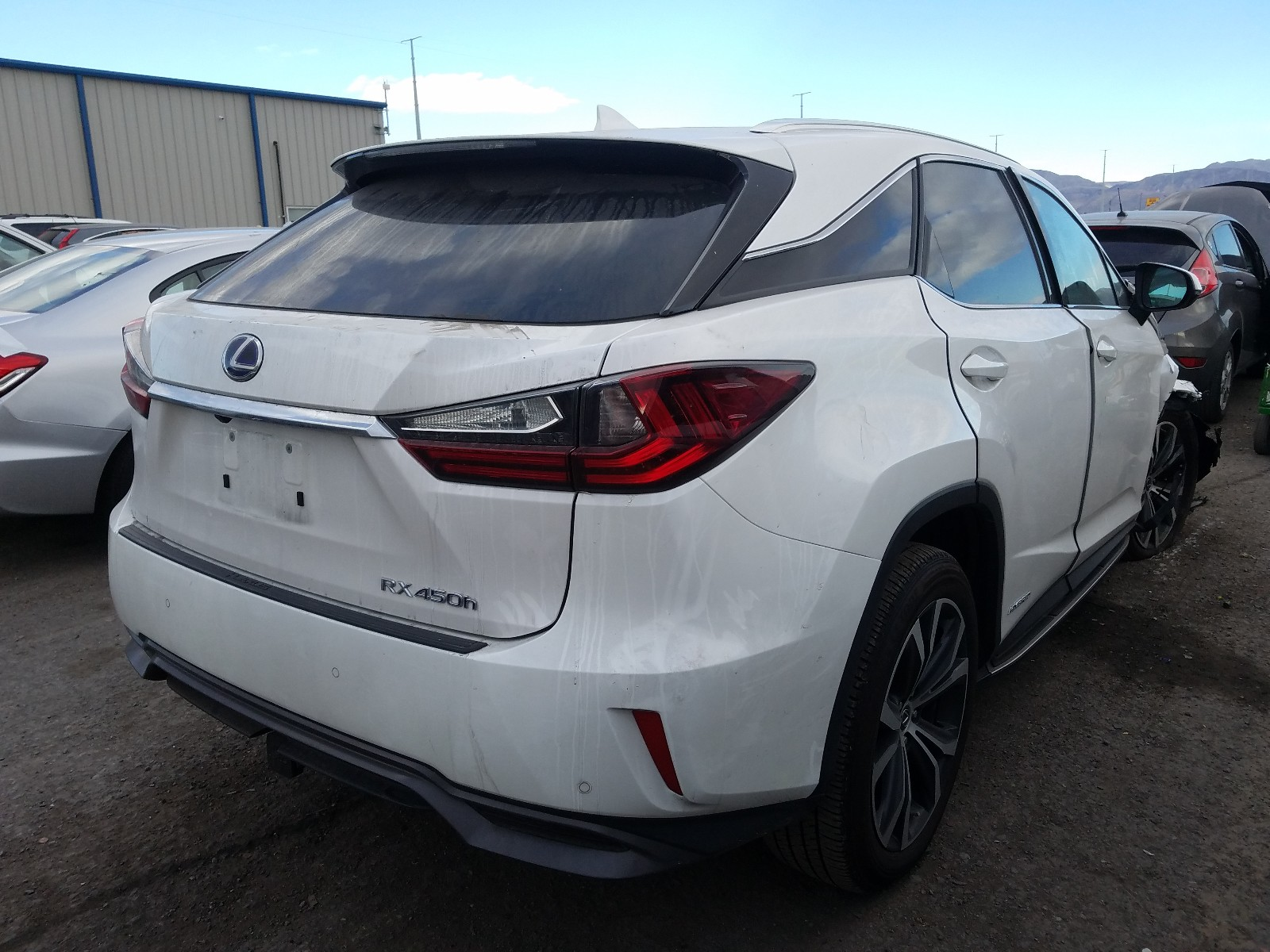 2T2BGMCA3KC032185 - 2019 Lexus Rx 450H Ba 3.5L rear view