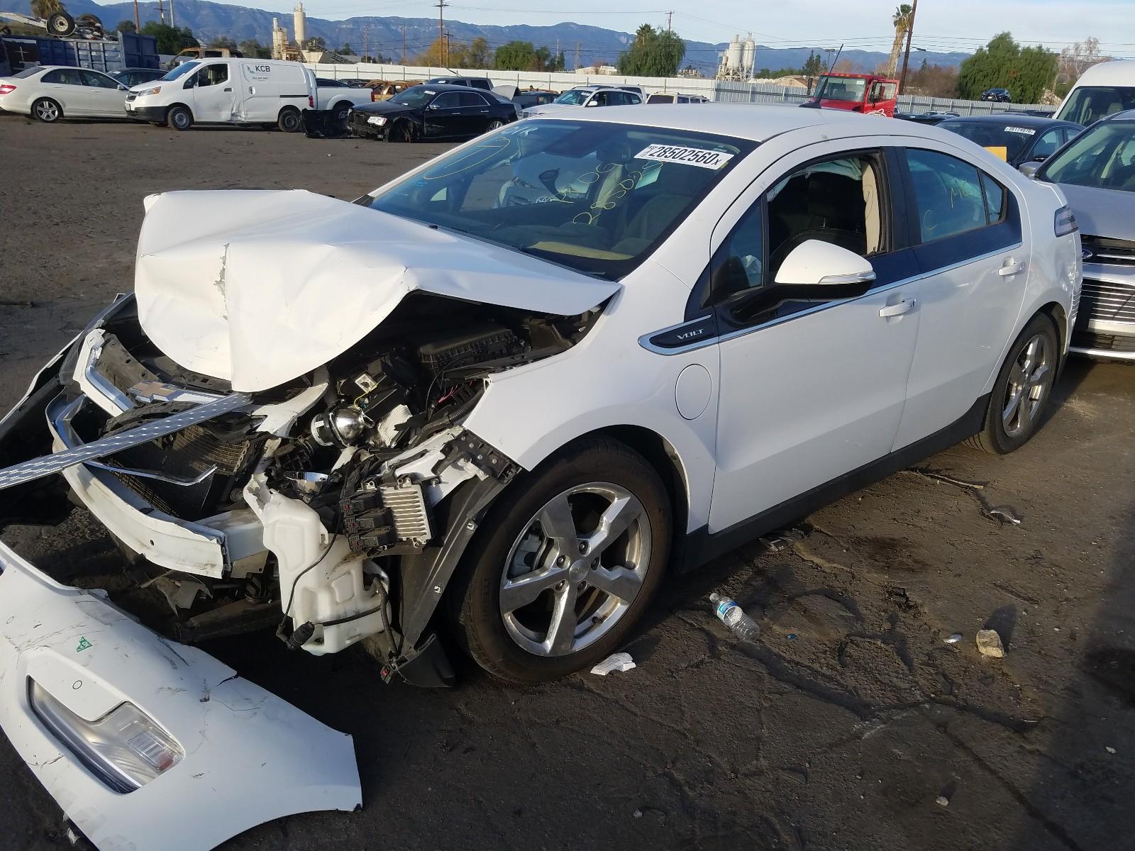 1G1RH6E47DU131223 - 2013 Chevrolet Volt 1.4L Right View
