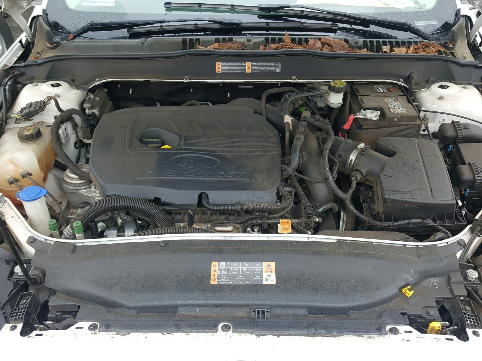 3FA6P0HD9HR110480 - 2017 Ford Fusion Se 1.5L inside view