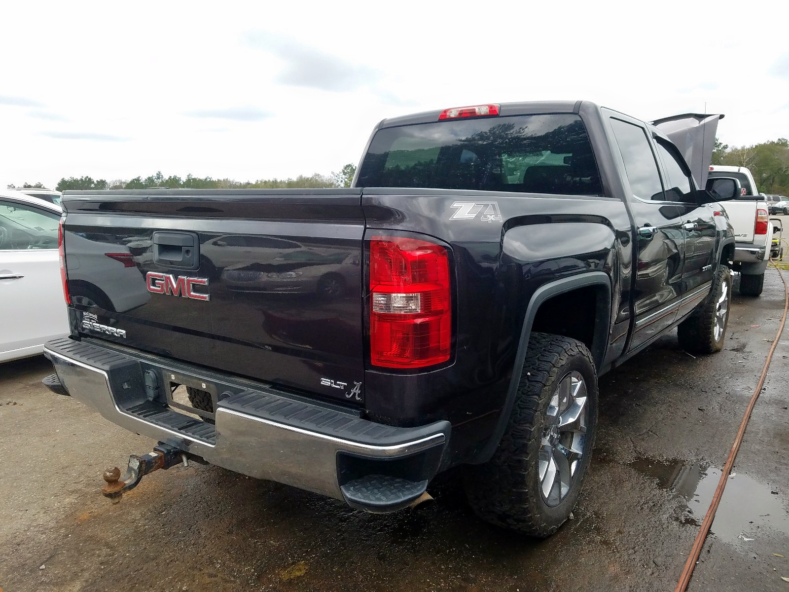 3GTU2VEC2EG508713 - 2014 Gmc Sierra K15 5.3L rear view