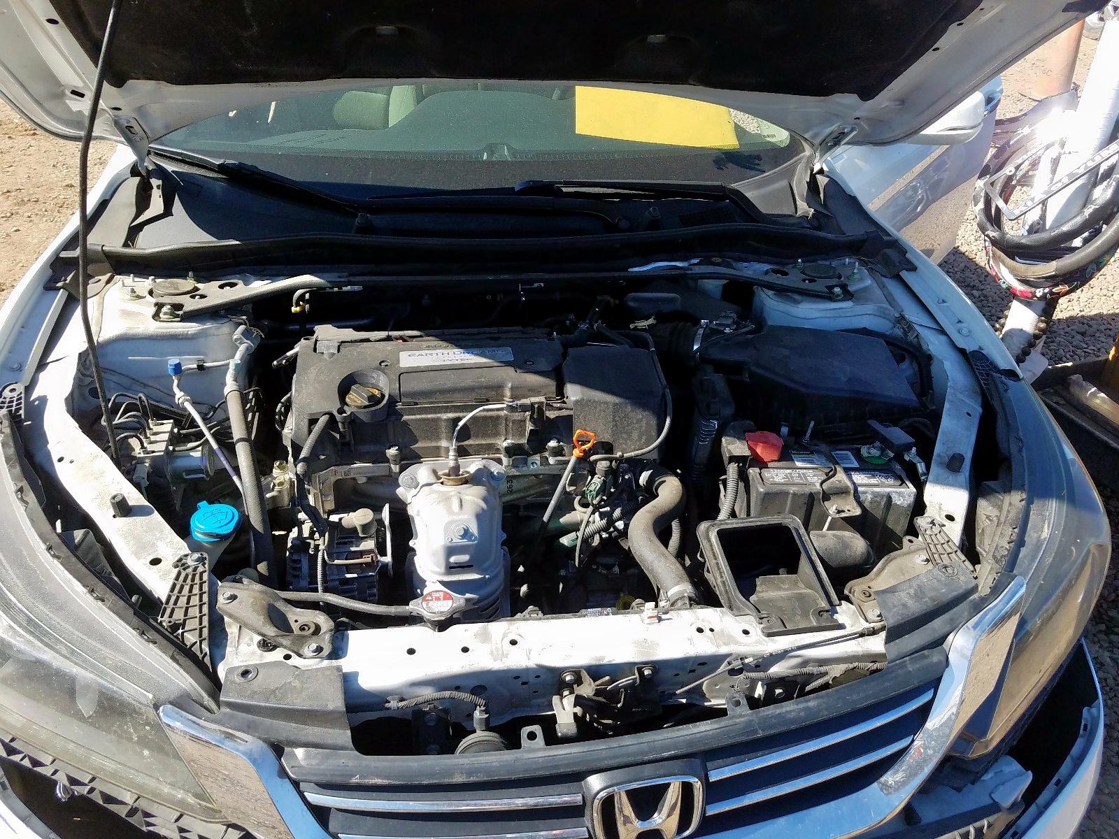 1HGCR2F75EA217906 - 2014 Honda Accord Ex 2.4L inside view
