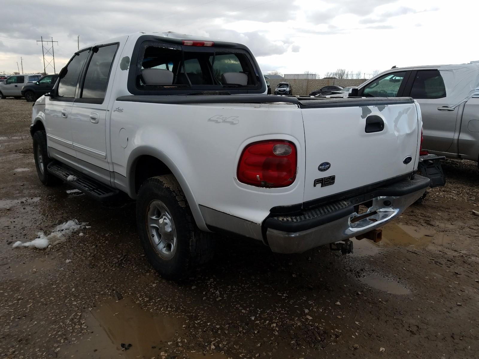 1FTRW08L01KB33707 - 2001 Ford F150 Super 5.4L [Angle] View