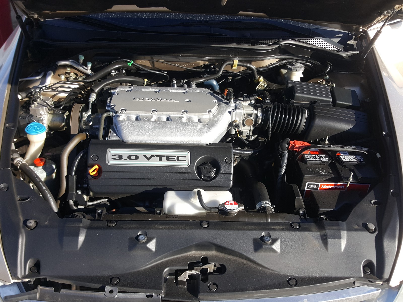1HGCM66537A007991 - 2007 Honda Accord Ex 3.0L inside view