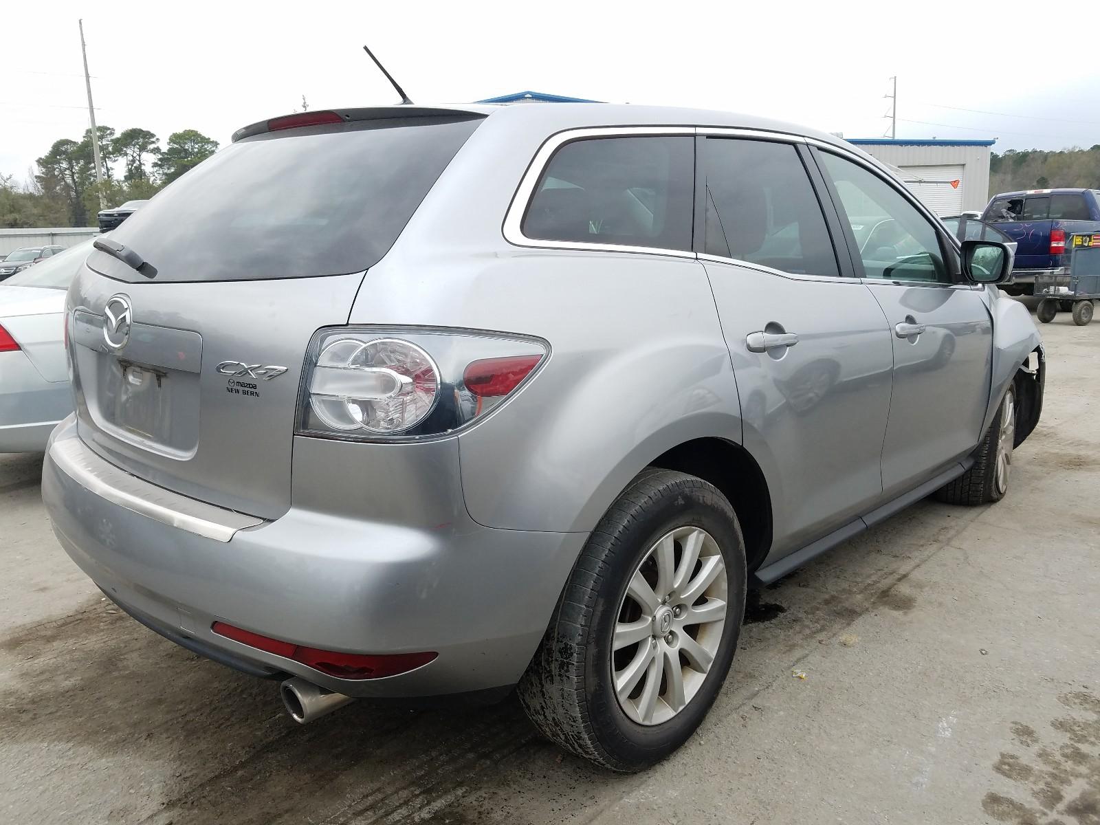 JM3ER2W51A0346416 - 2010 Mazda Cx-7 2.5L rear view