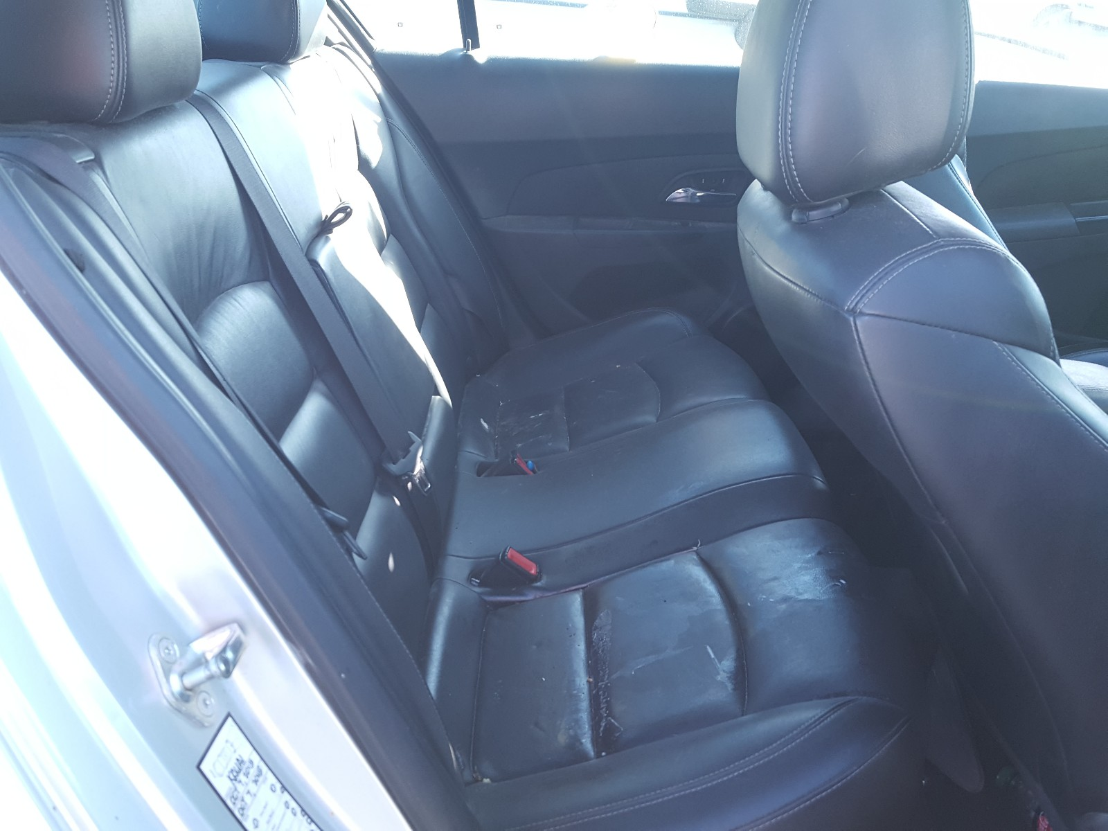1G1PG5SB0G7130991 - 2016 Chevrolet Cruze Limi 1.4L detail view