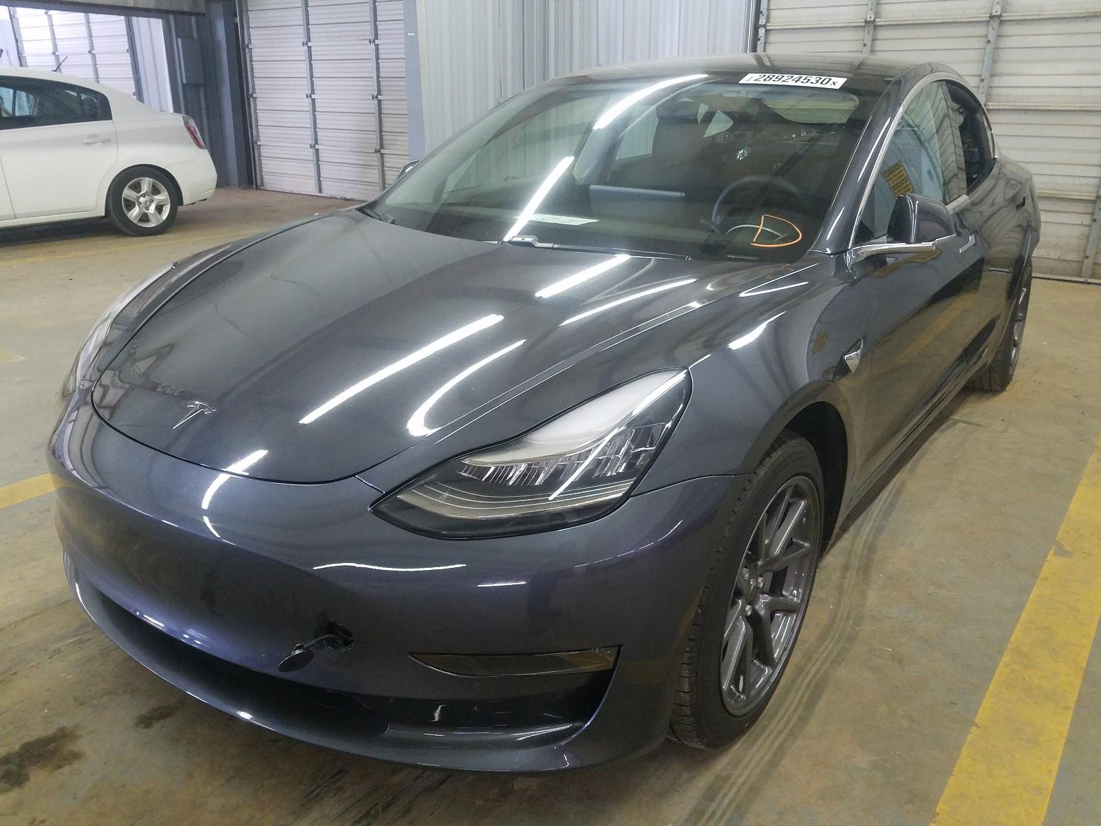 2019 Tesla Model 3 for sale at Copart Mocksville, NC Lot ...