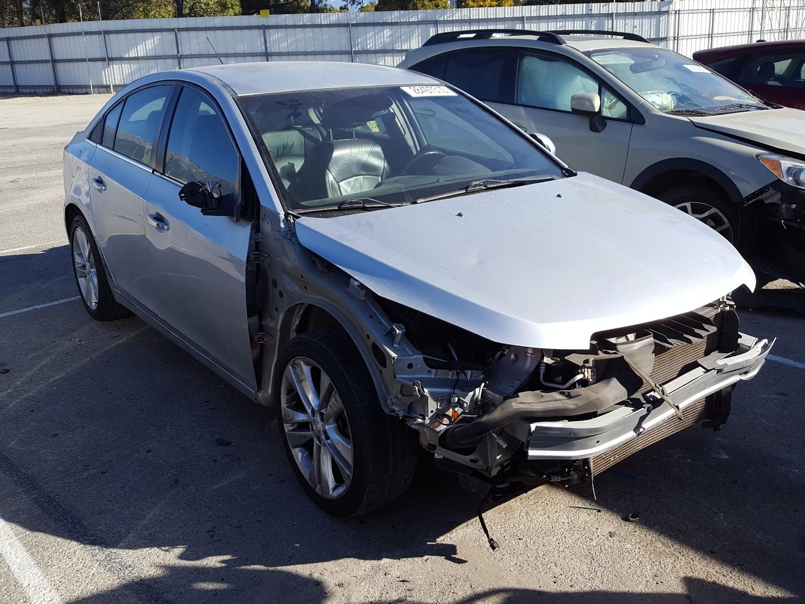 1G1PG5SB0G7130991 - 2016 Chevrolet Cruze Limi 1.4L Left View